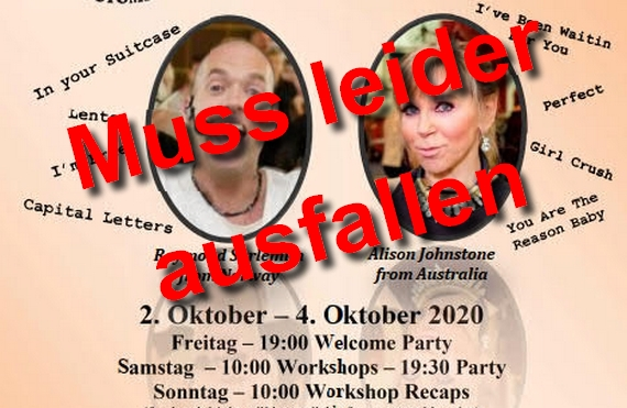 02.10. bis 02.10.2020 - 17. internationaler Line Dance Treff